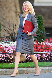 © Licensed to London News Pictures. 25/07/2019. London, UK. Housing minister Esther McVey arrives in Downing Street for the first meeting of the new Cabinet. Later today Prime Minister Boris Johnson will speak in the House of Commons.  Photo credit: George Cracknell Wright/LNP