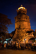 Belfry of Catherine Alexandra Church -Dumaguete's patron saint is Santa Catalina de Alexandria or St. Catherine of Alexandria.  A church was built in her name by the Dumaguete town plaza. The belfry is a prominent landmark in the city and belfry was used for protection against pirates during the Spanish colonial period.