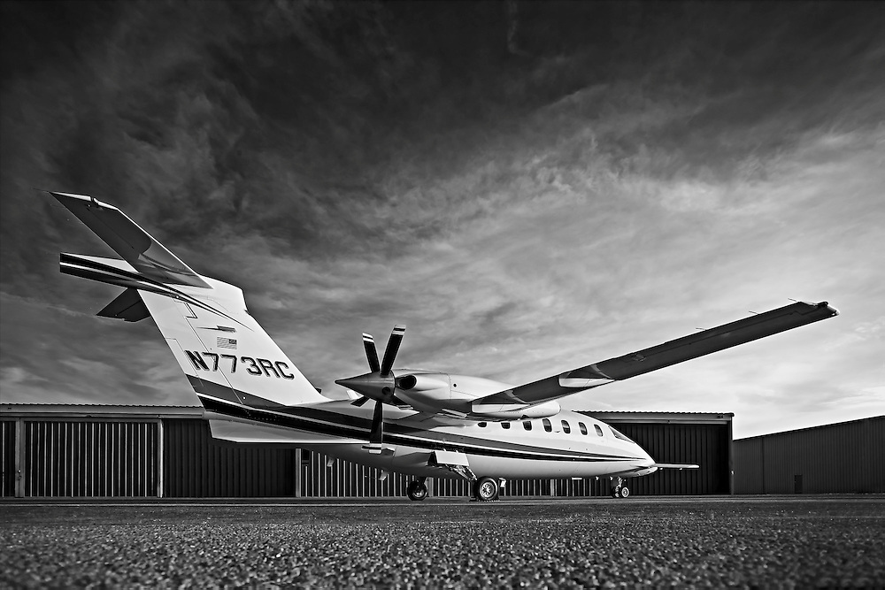 Piaggio P180 Avanti II, photographed on the ramp at Atlanta's Dekalb Peachtree Airport (PDK).  Created by aviation photographer John Slemp of Aerographs Aviation Photography. Clients include Goodyear Aviation Tires, Phillips 66 Aviation Fuels, Smithsonian Air & Space magazine, and The Lindbergh Foundation.  Specialising in high end commercial aviation photography and the supply of aviation stock photography for commercial and marketing use.