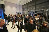 Mannheim. 15.12.17  <br /> Kunsthalle. Neubau. Nachtaufnahmen von Aussen mit der Mesh-Fassade. Er&ouml;ffnung<br /> <br /> Bild-ID 037   Markus Pro&szlig;witz 15DEC17 / masterpress