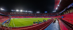 SEVILLE, SPAIN - Tuesday, November 21, 2017: A general view of the stadium before the UEFA Champions League Group E match between Sevilla FC and Liverpool FC at the Estadio Ramón Sánchez Pizjuán. (Pic by David Rawcliffe/Propaganda)