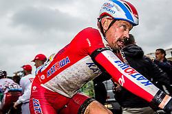 Katusha, Tour de France, Stage 5: Ypres > Arenberg Porte du Hainaut, UCI WorldTour, 2.UWT, Wallers, France, 9th July 2014, Photo by Thomas van Bracht / Peloton Photos