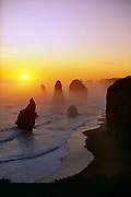 The 12 Apostles in the Port Campbell National Park