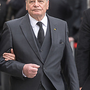 LUX/Luxemburg/20190504 - Funeral of HRH Grand Duke Jean/Uitvaart Groothertog Jean, Joachim Gauck