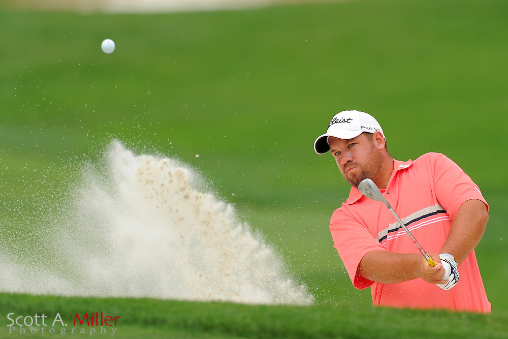Bendon de Jonge during the final round of the Wells Fargo Championship at the Quail Hollow Club on May 6, 2012 in Charlotte, N.C. ..©2012 Scott A. Miller.