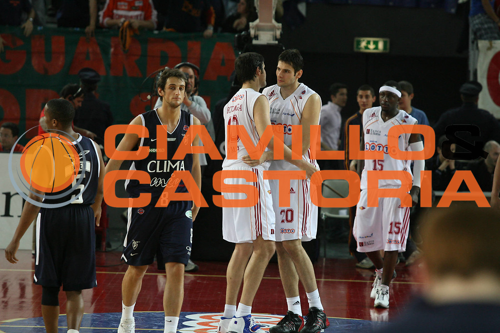 DESCRIZIONE : Roma Lega A1 2006-07 Lottomatica Virtus Roma Climamio Fortitudo Bologna <br /> GIOCATORE : Belinelli <br /> SQUADRA : Climamio Fortitudo Bologna <br /> EVENTO : Campionato Lega A1 2006-2007 <br /> GARA : Lottomatica Virtus Roma Climamio Fortitudo Bologna <br /> DATA : 15/04/2007 <br /> CATEGORIA : Delusione <br /> SPORT : Pallacanestro <br /> AUTORE : Agenzia Ciamillo-Castoria/G.Ciamillo