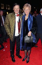 Tim Wonnacott and Helen Wonnacott attend White Christmas Press Night at The Dominion Theatre, Tottenham Court Road, London on Wednesday 12 November 2014