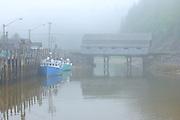 Vaughn Creek # 1 Irish River Covered Bridge<br /> Saint Martins<br /> New Brunswick<br /> Canada