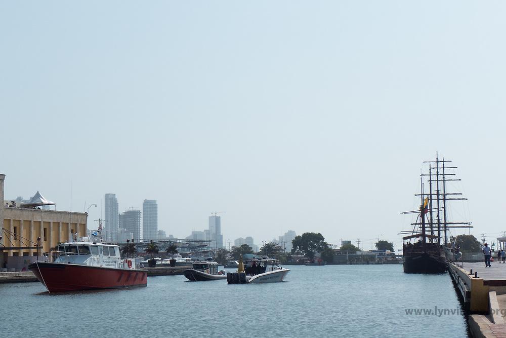 Cartagena harbour