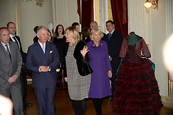 14.03.2016, Zagreb, CRO, der Britische Kronprinz Charles und seine Frau Camilla besuchen Kroatien, im Bild British Crown Prince Charles and his wife Camilla, the Duchess of Cornwall, are visiting Croatia as part of a regional tour that will include Serbia, Montenegro and Kosovo. They visited the Croatian National Theatre and participated in a programme to commemorate the 400th anniversary of the death of William Shakespeare. EXPA Pictures © 2016, PhotoCredit: EXPA/ Pixsell/ Goran Mehkek/Cropix/POOL<br /> <br /> *****ATTENTION - for AUT, SLO, SUI, SWE, ITA, FRA only*****