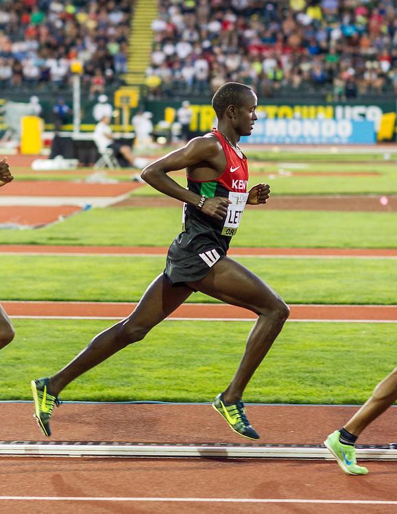 mens 5000 meters, Moses Letoyie, Kenya