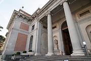 Main entrance of the Prado Museum, Madrid, Spain