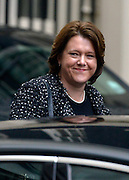 © Licensed to London News Pictures. 18/03/2013. Westminster, UK Maria Miller, Conservative MP, Secretary  of  State  for  Culture,  Olympics,  Media and   Sport . leaves Downing Street today 18th March 2013. Photo credit : Stephen Simpson/LNP