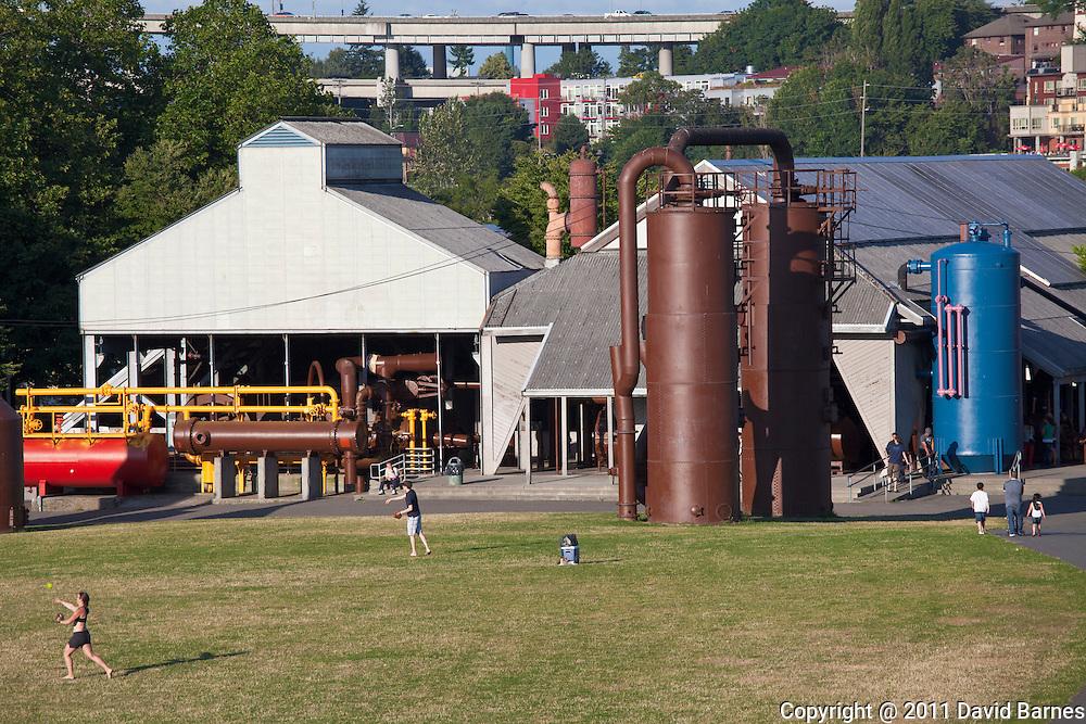 Gasworks Park,, Seattle, Washington, USA