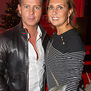 NLD/Hilversum/20151207- Sky Radio's Christmas Tree for Charity, Danny de Munk en partner Jenny