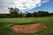Left side bunker on the 2nd, at The Wanderers Golf Club, Gauteng, Johannesburg, South Africa.  12/01/2016. Picture: Golffile | David Lloyd<br /> <br /> All photos usage must carry mandatory copyright credit (© Golffile | David Lloyd)