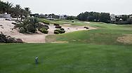 5th tee at The Address Montgomerie Golf Club, Dubai, United Arab Emirates.  27/01/2016. Picture: Golffile | David Lloyd<br /> <br /> All photos usage must carry mandatory copyright credit (© Golffile | David Lloyd)