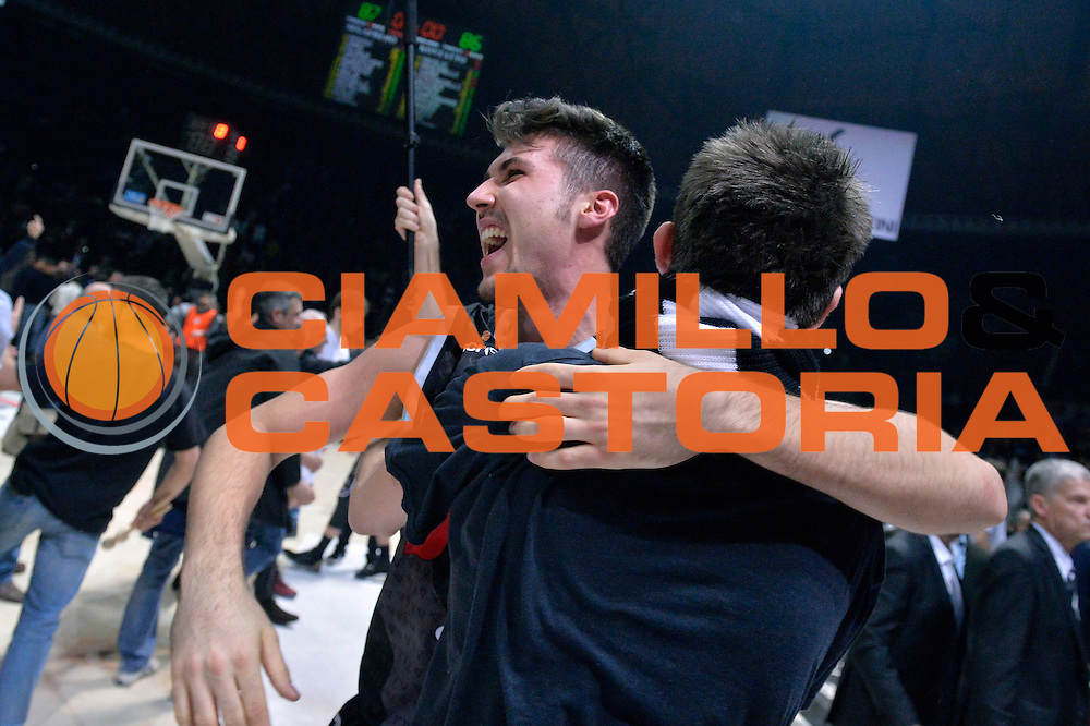 Tommaso Oxilia<br /> Segafredo Virtus Bologna - Kontatto Fortitudo Bologna<br /> Campionato Basket LNP 2016/2017<br /> Bologna 06/01/2017<br /> Foto Ciamillo-Castoria