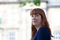 Edinburgh International Book Festival 2013 portait of Evie Wyld at Charlotte Square Garden <br /> <br /> Pic by Pako Mera