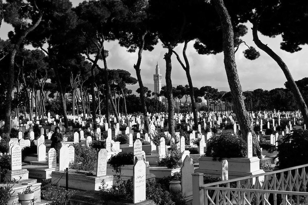 BEIRUT, Lebanon: Palestinian national cemetery