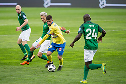 Nino Pungarsek of NK Celje during football match between NK Olimpija Ljubljana and NK Celje in 1st leg match in Semifinal of Slovenian cup 2017/2018, on April 4, 2018 in SRC Stozice, Ljubljana, Slovenia. Photo by Urban Urbanc / Sportida