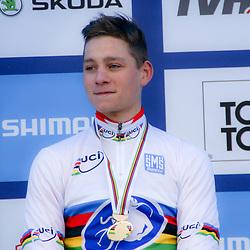 01-02-2015: Wielrennen: WK veldrijden: Tabor<br />Mathieu van der Poel