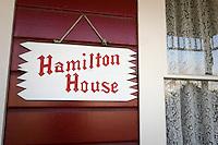 Hamilton House Front Porch in Centennial Heritage Park, Glendora, California