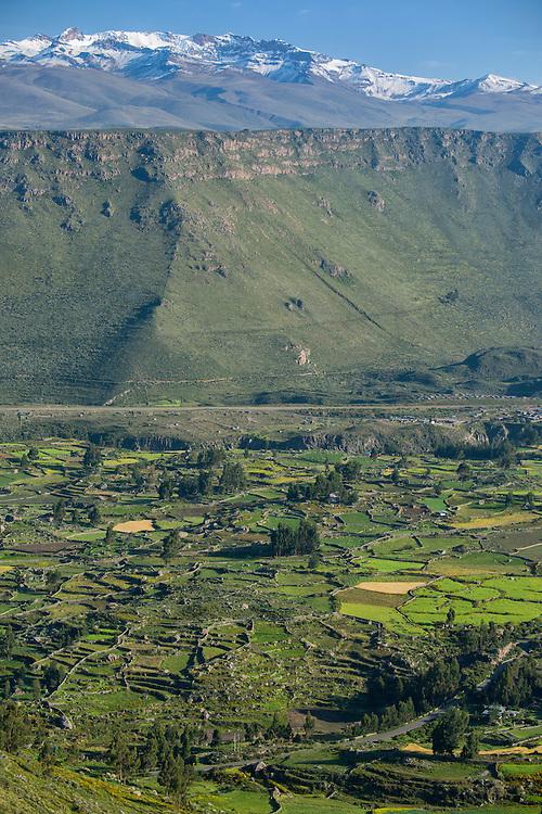 South America; Peru; Sabancaya; Chivay;