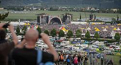14.05.2015, Red Bull Ring, Spielberg, AUT, AC DC, Rock or Bust Tour, Spielberg, Konzert, im Bild eine Übersicht über das Konzertgelände. Die australische Band AC/DC gastiert im Zuge ihrer Rock or Bust World Tour am 14. Mai in Spielberg // AC/DC perform on stage during their Rock or Bust Tour at the Red Bull Ring, Spielberg, Austria on 2015/05/14. EXPA Pictures © 2015, PhotoCredit: EXPA/ Sandro Zangrando