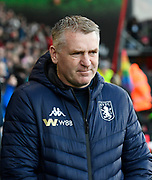 Aston Villa manager Dean Smith during the Premier League match between Bournemouth and Aston Villa at the Vitality Stadium, Bournemouth, England on 1 February 2020.