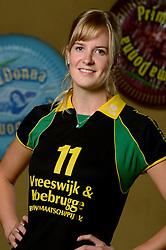 09-10-2013 VOLLEYBAL: PRIMA DONNA KAAS VROUWEN: HUIZEN <br /> 1e divisie B PDK Huizen seizoen 2013-2014 / Bianca de Kock<br /> &copy;2013-FotoHoogendoorn.nl