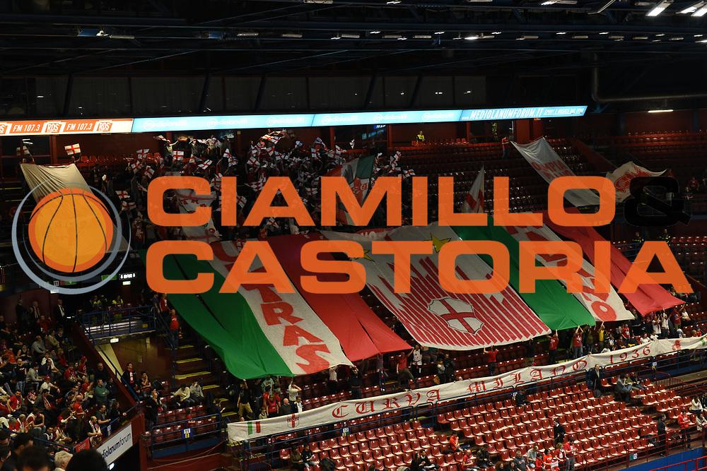 DESCRIZIONE : Milano Final Eight 2016 <br /> Armani Jeans Milano-Sidigas Avellino<br /> GIOCATORE : Tifosi Olimpia EA7 Emporio Armani Milano<br /> CATEGORIA : Tifosi <br /> SQUADRA : Olimpia EA7 Emporio Armani Milano<br /> EVENTO : Final Eight 2016<br /> GARA : Armani Jeans Milano-Sidigas Avellino<br /> DATA : 21/02/2016<br /> SPORT : Pallacanestro<br /> AUTORE : Agenzia Ciamillo-Castoria/M.Matta<br /> Galleria : Final Eight 2016 <br /> Fotonotizia: Milano Final Eight 2016 Armani Jeans Milano-Sidigas Avellino