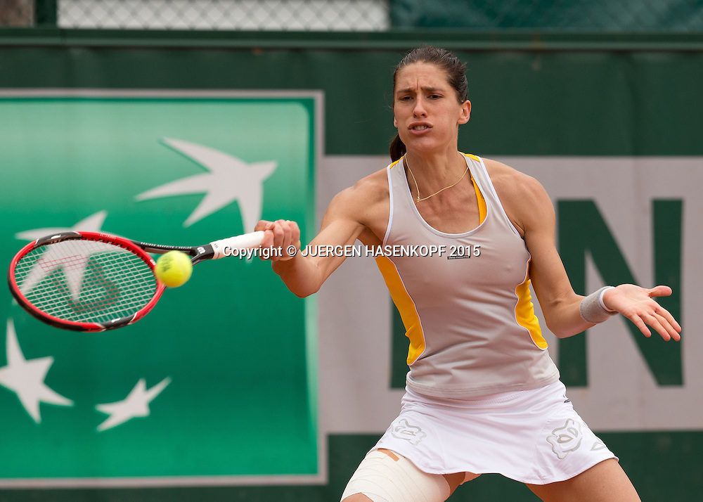 Andrea Petkovic (GER)<br /> <br /> Tennis - French Open 2015 - Grand Slam ITF / ATP / WTA -  Roland Garros - Paris -  - France  - 28 May 2015.