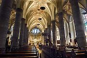Nederland, Weert, 7-11-2007..Interieur van de kerk, Martinuskerk, in het centrum van Weert...Foto: Flip Franssen/Hollandse Hoogte
