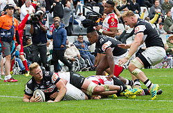 Durban. 201018. Daniel Du Preez of the Cell C Sharks during the Currie Cup, Semi Final match between Cell C Sharks and Xerox Golden Lions at Jonsson Kings Park in Durban, South Africa. Picture Leon Lestrade. African News Agency. ( ANA )