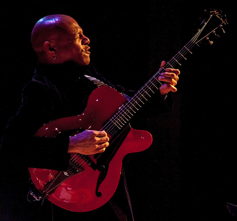 Guitarist Mark Whitfield performs with the Neal Smith Quintet at Miller Theatre, Columbia University