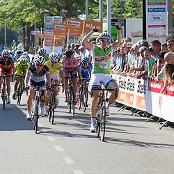 Boels Rental Ladiestour 2013 Leerdam Kirsten Wild wint etappe