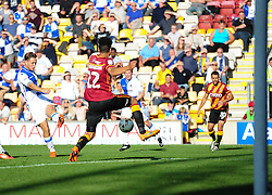 Charlie Colkett of Bristol Rovers  scores. - Mandatory by-line: Alex James/JMP - 17/09/2016 - FOOTBALL - Coral Windows Stadium - Bradford, England - Bradford City v Bristol Rovers - Sky Bet League One