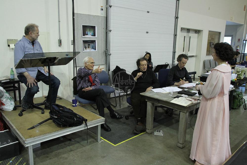 La Voix Humane, Seattle Opera 2013.