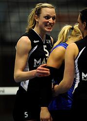 29-01-2011 VOLLEYBAL: TVC AMSTELVEEN - PEELPUSH: AMSTELVEEN<br /> Gelegenheidsteam TVC wint met 3-0 van Peelpush / Judith Pietersen<br /> &copy;2011-WWW.FOTOHOOGENDOORN.NL