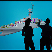 Visualisation Suite Campaign Shot for BAE Systems, Scotstoun