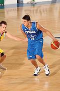 DESCRIZIONE : Bormio Torneo Internazionale Gianatti Italia Australia <br /> GIOCATORE : Danilo Gallinari<br /> SQUADRA : Nazionale Italia Uomini <br /> EVENTO : Bormio Torneo Internazionale Gianatti <br /> GARA : Italia Australia <br /> DATA : 03/08/2007 <br /> CATEGORIA : Palleggio<br /> SPORT : Pallacanestro <br /> AUTORE : Agenzia Ciamillo-Castoria/G.Cottini<br /> Galleria : Fip Nazionali 2007 <br /> Fotonotizia : Bormio Torneo Internazionale Gianatti Italia Australia<br /> Predefinita :