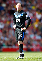 01.05.2011, Emirates Stadium, London, ENG, PL, Arsenal vs Manchester United, im Bild Wayne Rooney of Manchester United.Barclays Premier League.Arsenal v Manchester United.at Emirates Stadium, London on 01/05/2011, EXPA Pictures © 2011, PhotoCredit: EXPA/ IPS/ Kieran Galvin *** ATTENTION *** UK AND FRANCE OUT!