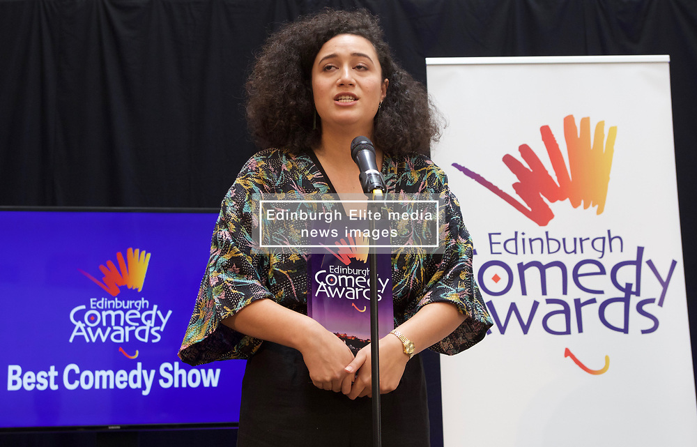 New Zealander Rose Matafeo won the £10,000 prize for Best Comedy Show at the 2018 Edinburgh Comedy Awards. Pic copyright Terry Murden @edinburghelitemedia