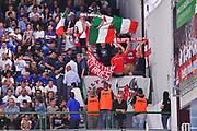 DESCRIZIONE : Campionato 2014/15 Serie A Beko Semifinale Playoff Gara4 Dinamo Banco di Sardegna Sassari - Olimpia EA7 Emporio Armani Milano<br /> GIOCATORE : Ultras Milano<br /> CATEGORIA : Ultras Tifosi Spettatori Pubblico<br /> SQUADRA : Olimpia EA7 Emporio Armani Milano<br /> EVENTO : LegaBasket Serie A Beko 2014/2015 Playoff<br /> GARA : Dinamo Banco di Sardegna Sassari - Olimpia EA7 Emporio Armani Milano Gara4<br /> DATA : 04/06/2015<br /> SPORT : Pallacanestro <br /> AUTORE : Agenzia Ciamillo-Castoria/L.Canu<br /> Galleria : LegaBasket Serie A Beko 2014/2015
