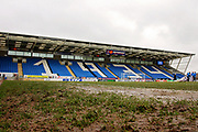 Muddy stadium shot before the EFL Sky Bet League 1 match between Peterborough United and Southend United at London Road, Peterborough, England on 3 February 2018. Picture by Nigel Cole.