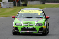 #4 Simon Byrne MG ZR 170 during the The John Woods Motorcars MG Trophy Championship at Oulton Park, Little Budworth, Cheshire, United Kingdom. September 03 2016. World Copyright Peter Taylor/PSP.