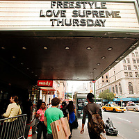 Freestyle Love Supreme - Gramercy Theater - July 26, 2012