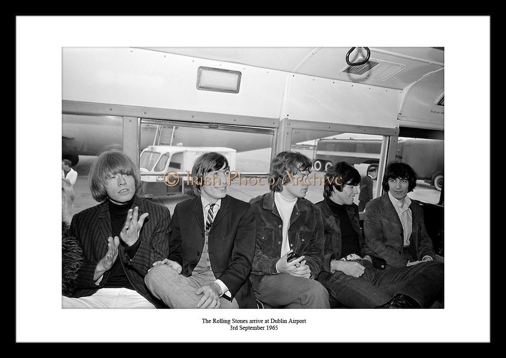 The Rolling Stones arrive at Dublin Airport<br />