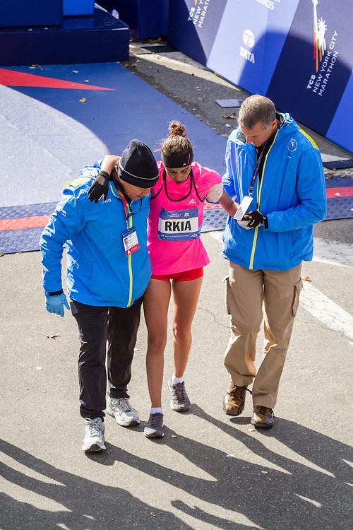 NYC Marathon, Rkia El Moukim, Morocco